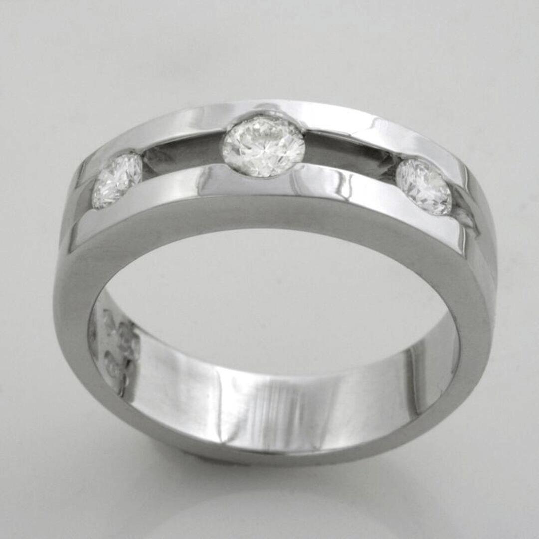 Triple Glitter Engagement Ring 5