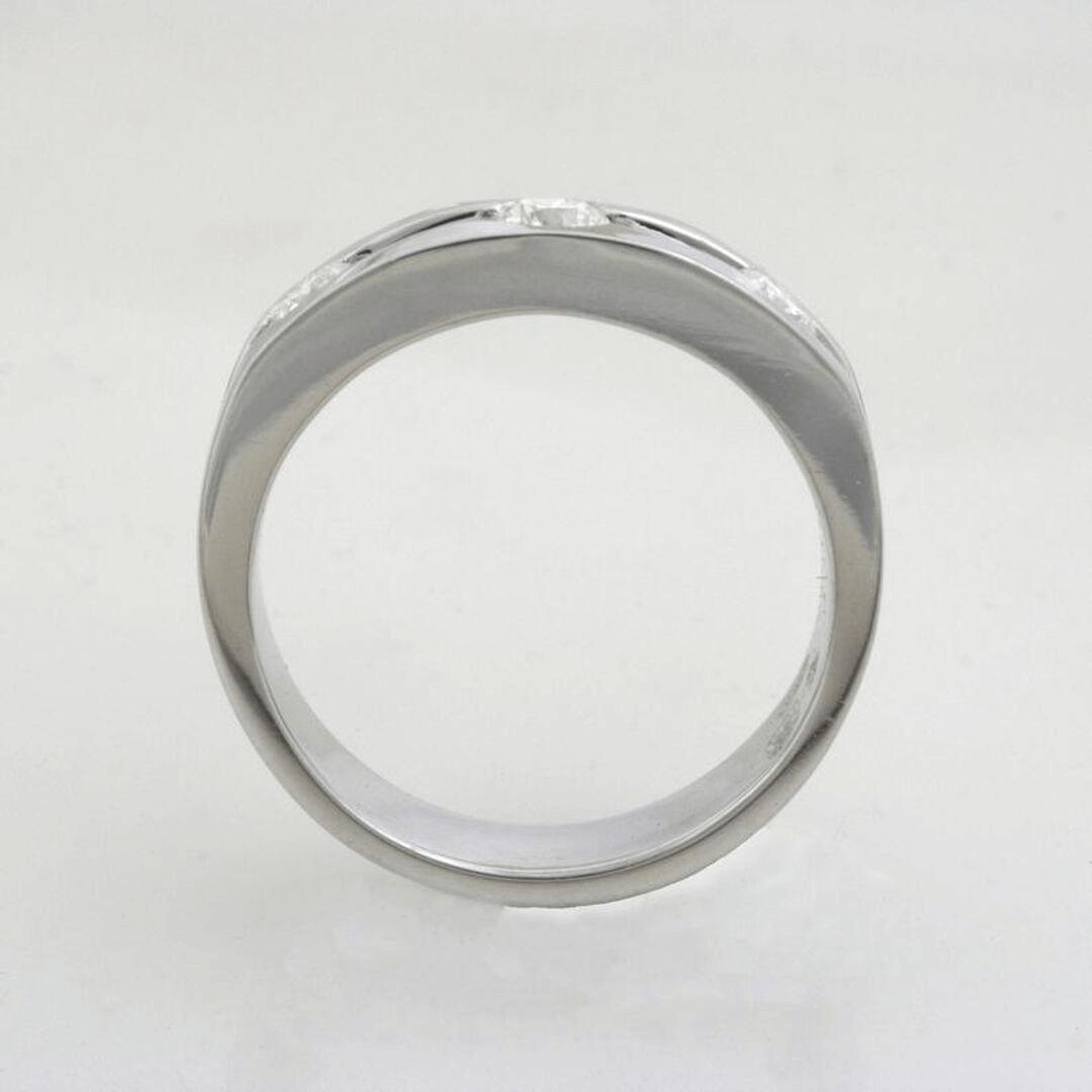 Triple Glitter Engagement Ring 6