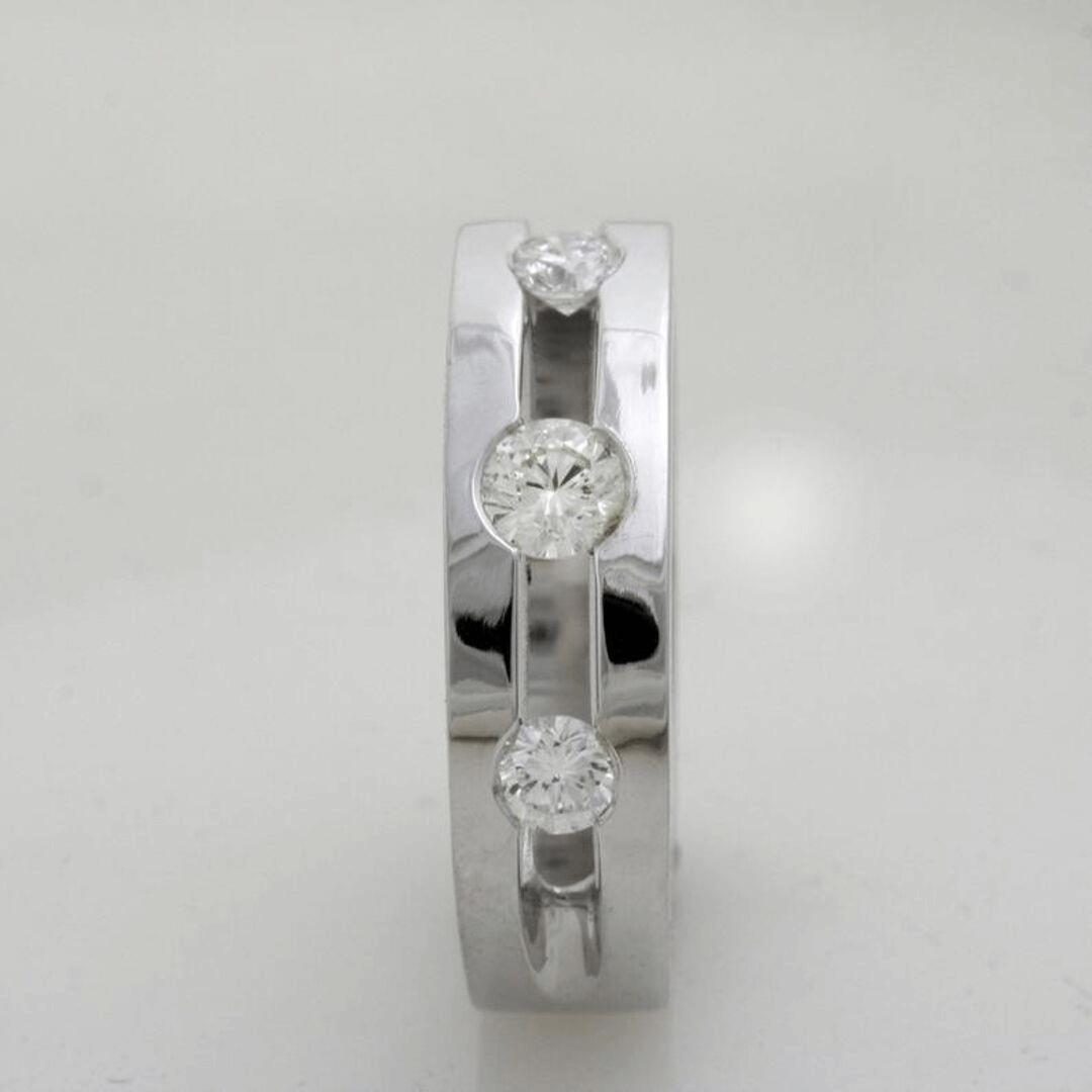 Triple Glitter Engagement Ring 4