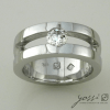 Sparkling Marine Statement Ring | Diamond, Sapphire & White Gold 2