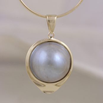 Classic Big Pearl Pendant