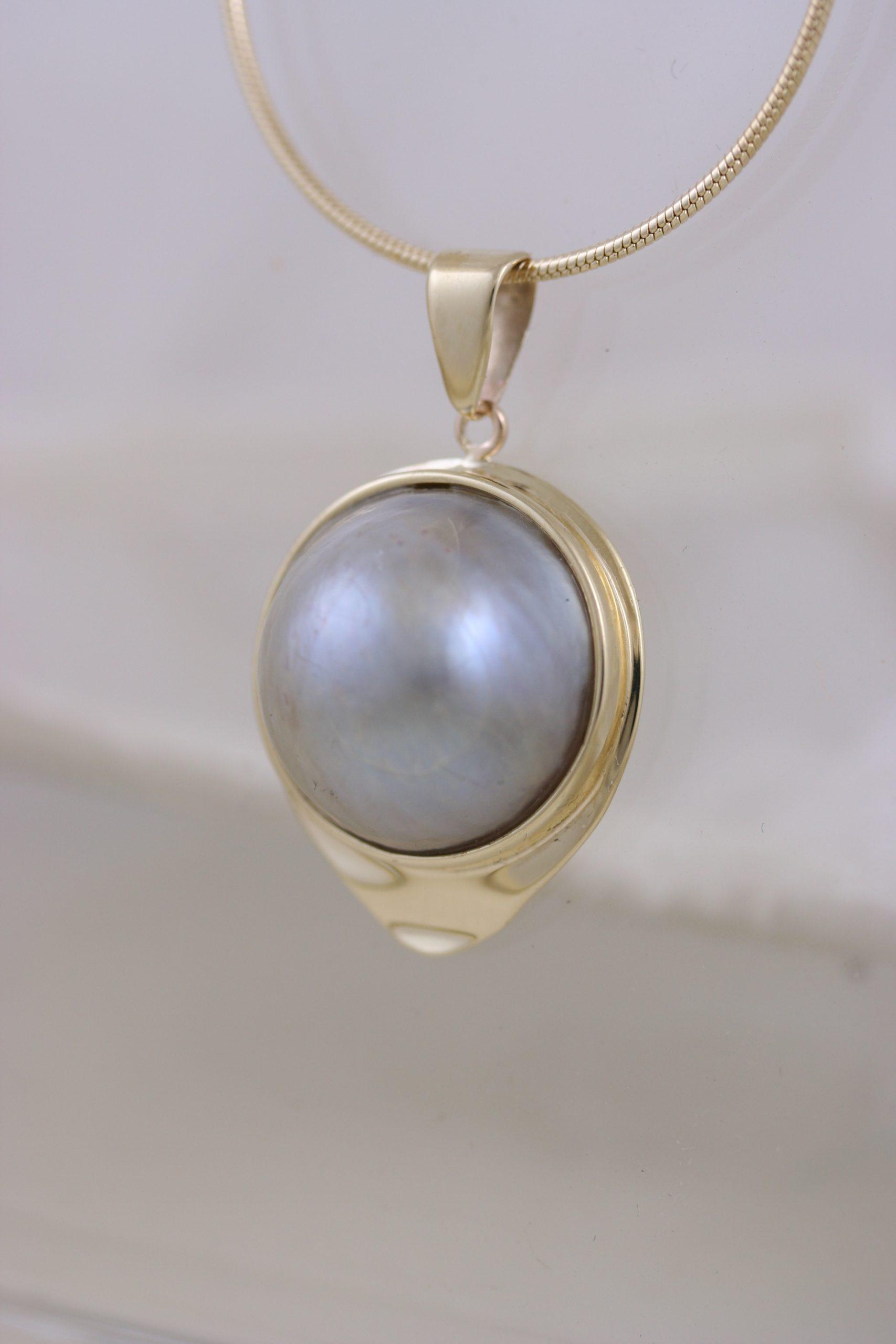 Classic Big Pearl Pendant 5