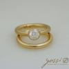 Sparkling Marine Statement Ring | Diamond, Sapphire & White Gold 1