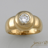 Attract Handmade Diamond Trilogy Engagement Ring 2