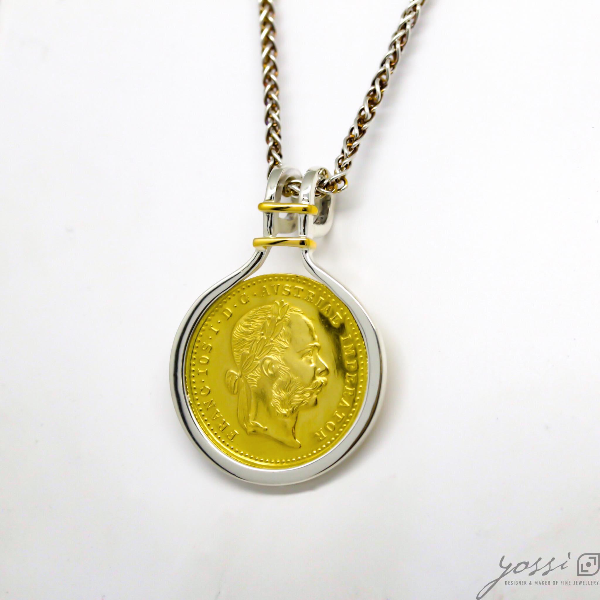 Bespoke Coin Pendant