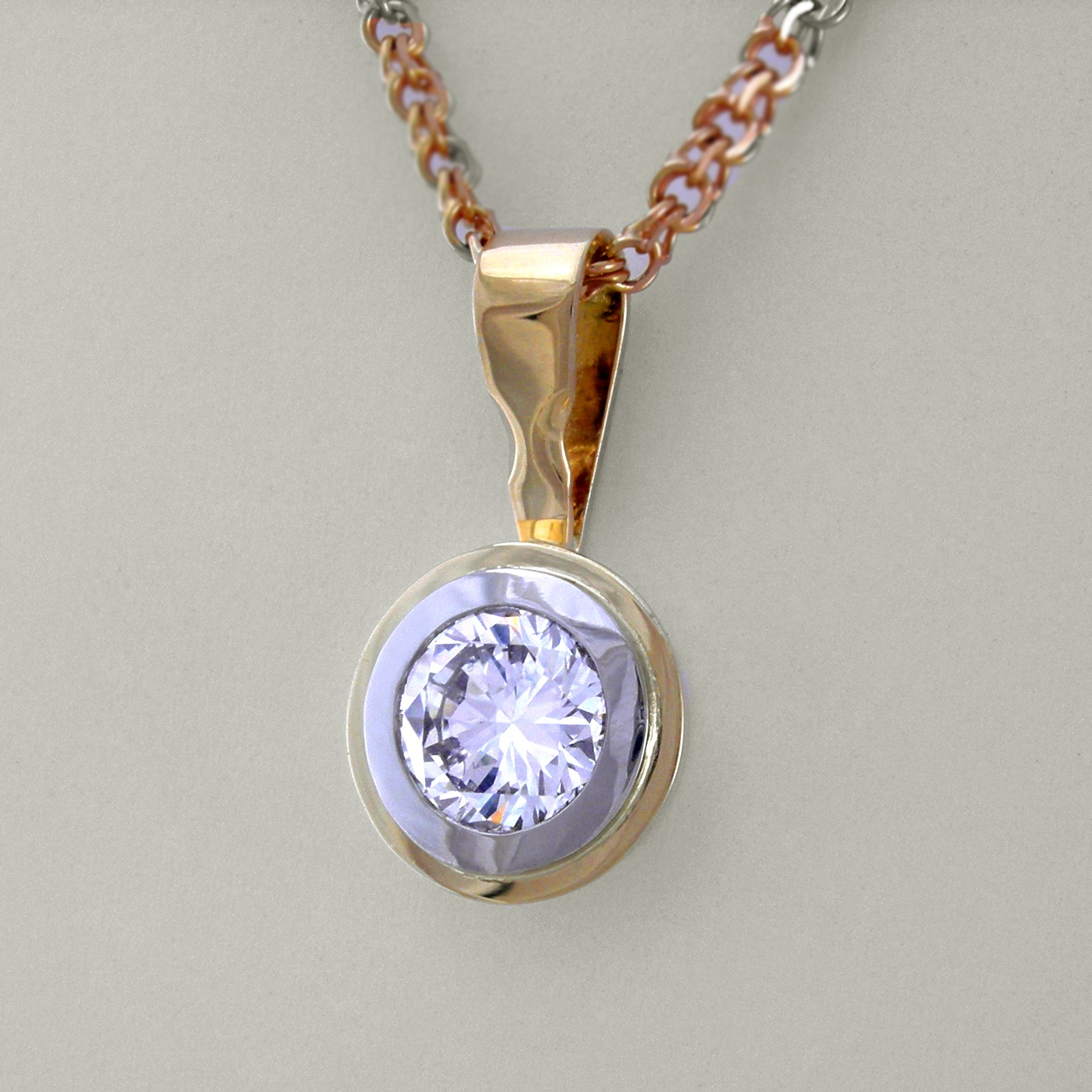 Striking Diamond Pendant 7