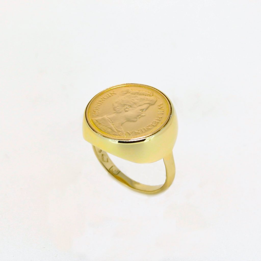 Netherlands Coin Ring 1