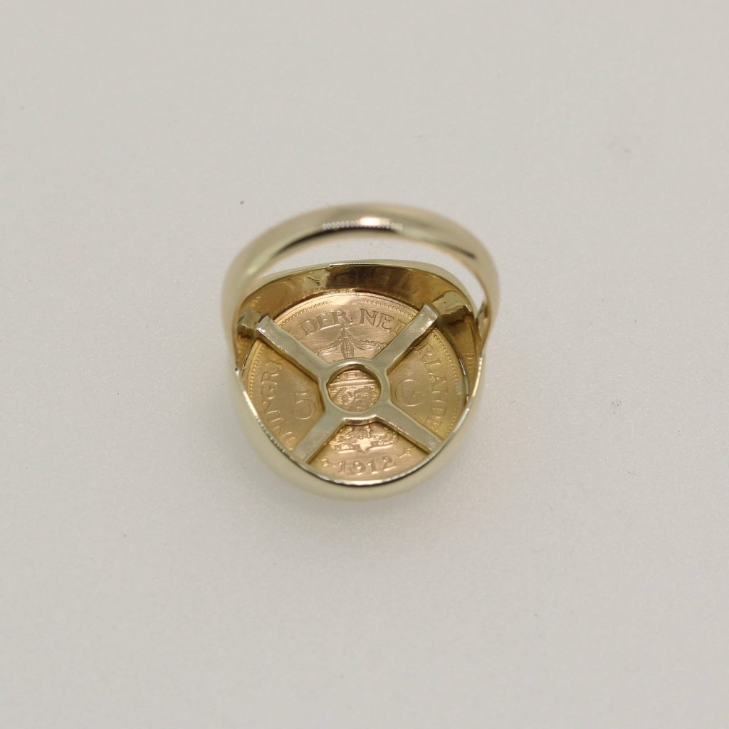 Netherlands Coin Ring 3