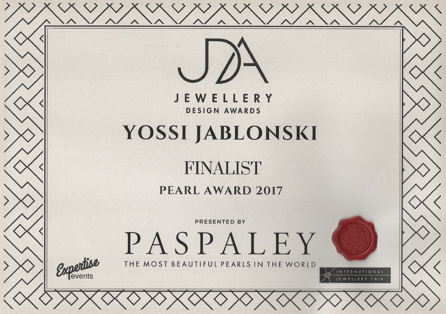 pearl award
