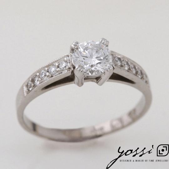 Astonishing Diamond & White Gold Engagement Ring 4