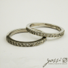 Elegant 18 Diamonds Eternity Ring 1