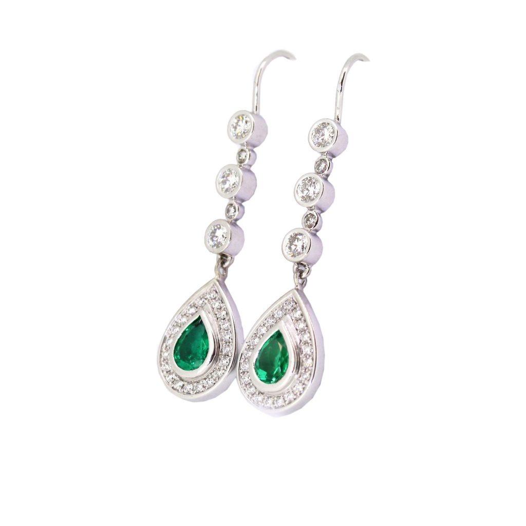 precious gem earrings