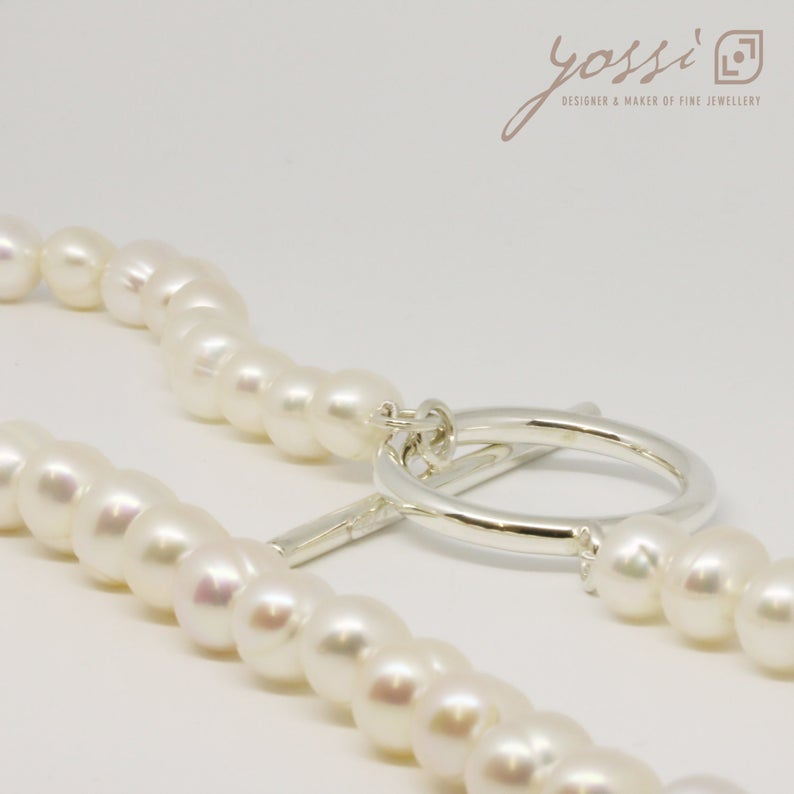 Royal White Pearl Necklace 5