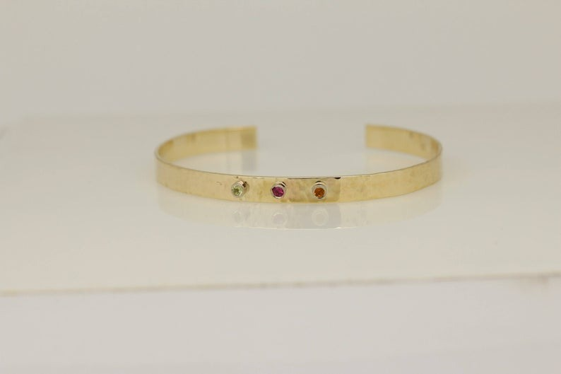 Special Multi-Coloured Hammered Bangle 4