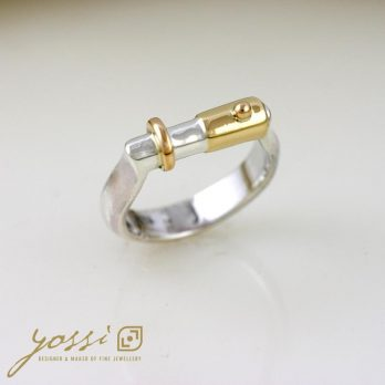 Jointly Gold & Silver Wedding Ring