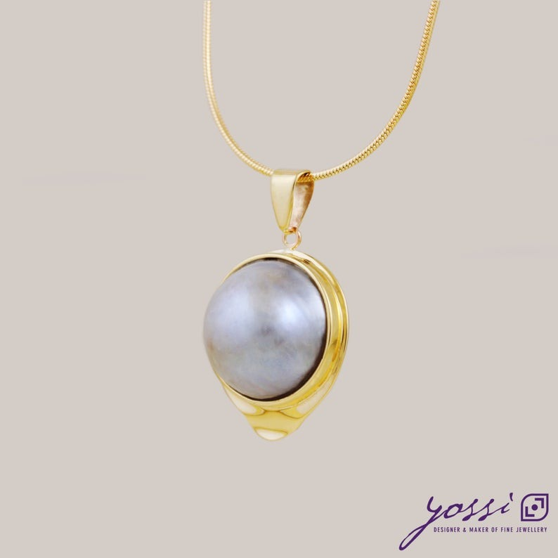 Classic Big Pearl Pendant 30