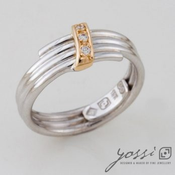 Gold, Silver and Diamonds Coil Bliss