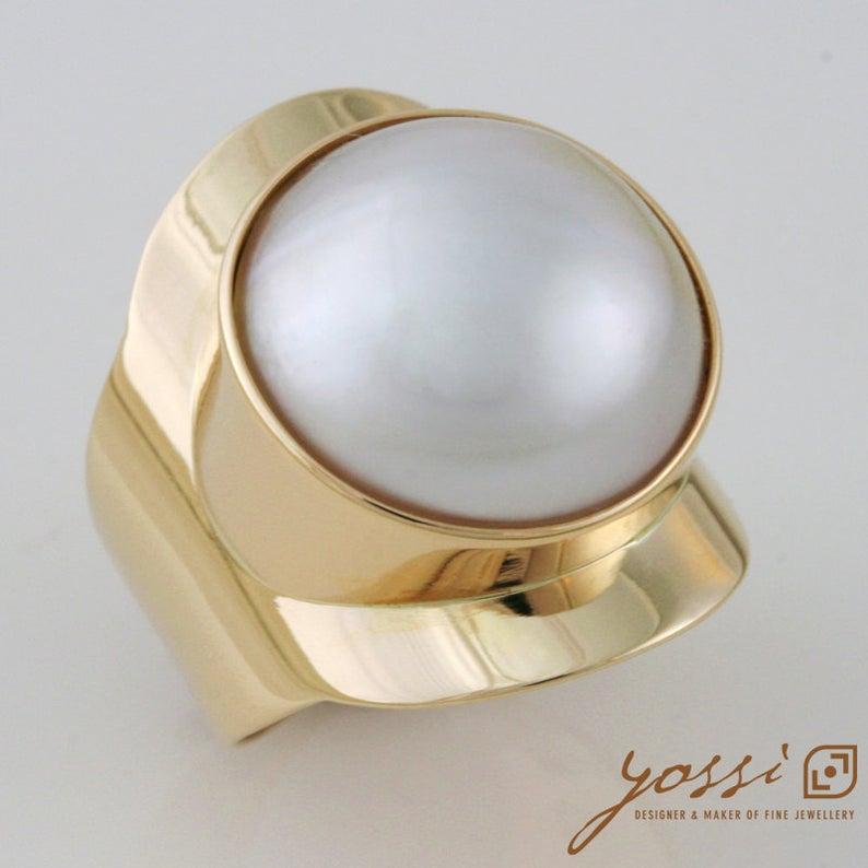 Baron Pearl Ring 12