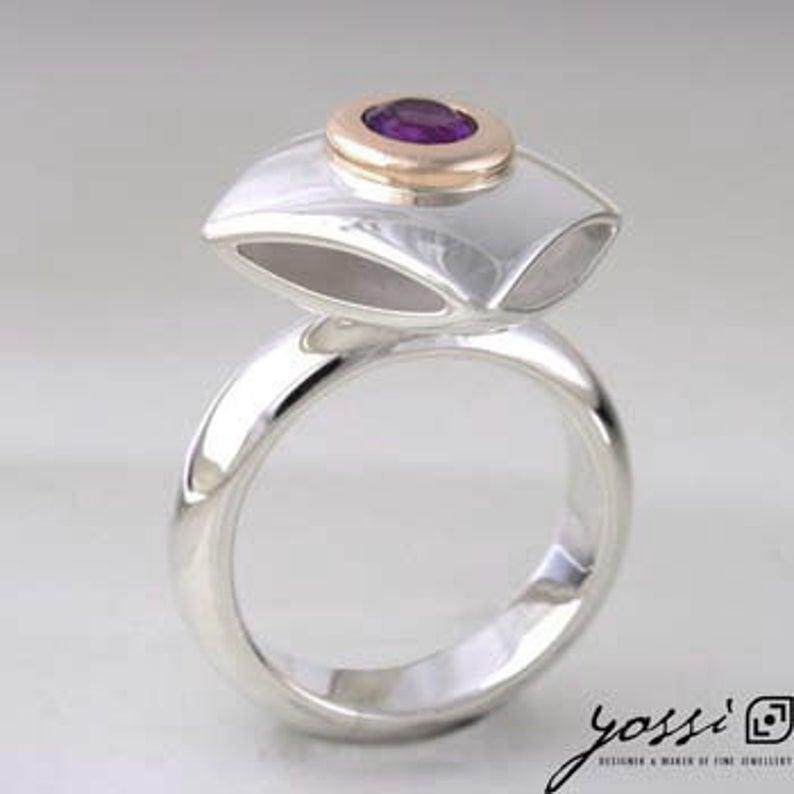 Captivating Amethyst Ring 4