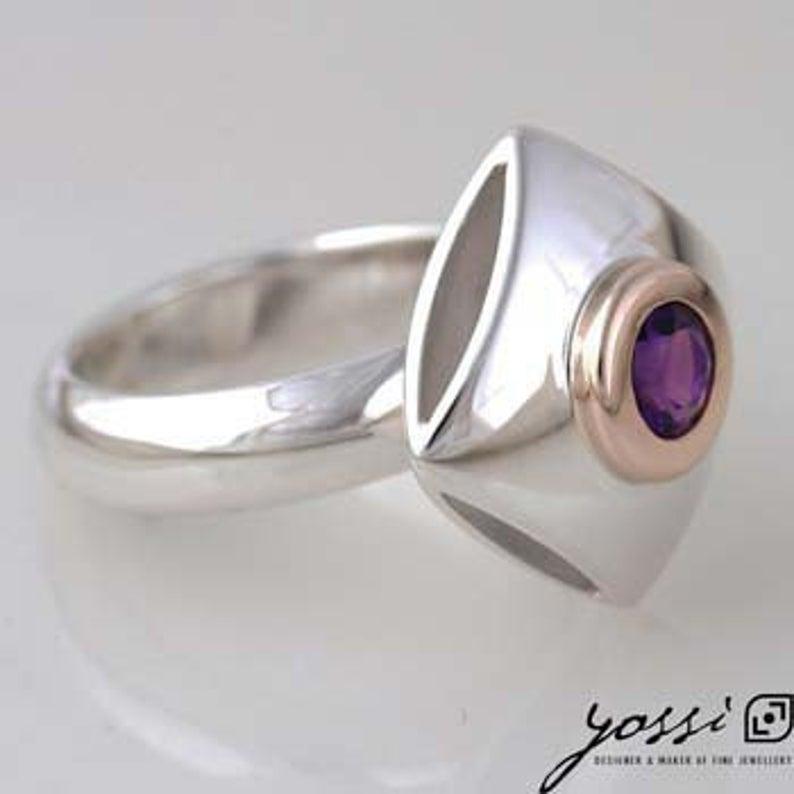 Captivating Amethyst Ring 3