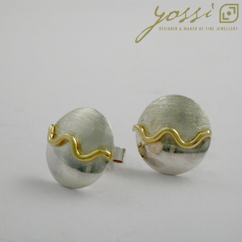 Creativity Wave Stud Earrings 3