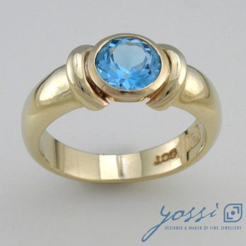 Marvellous Blue Topaz Ring