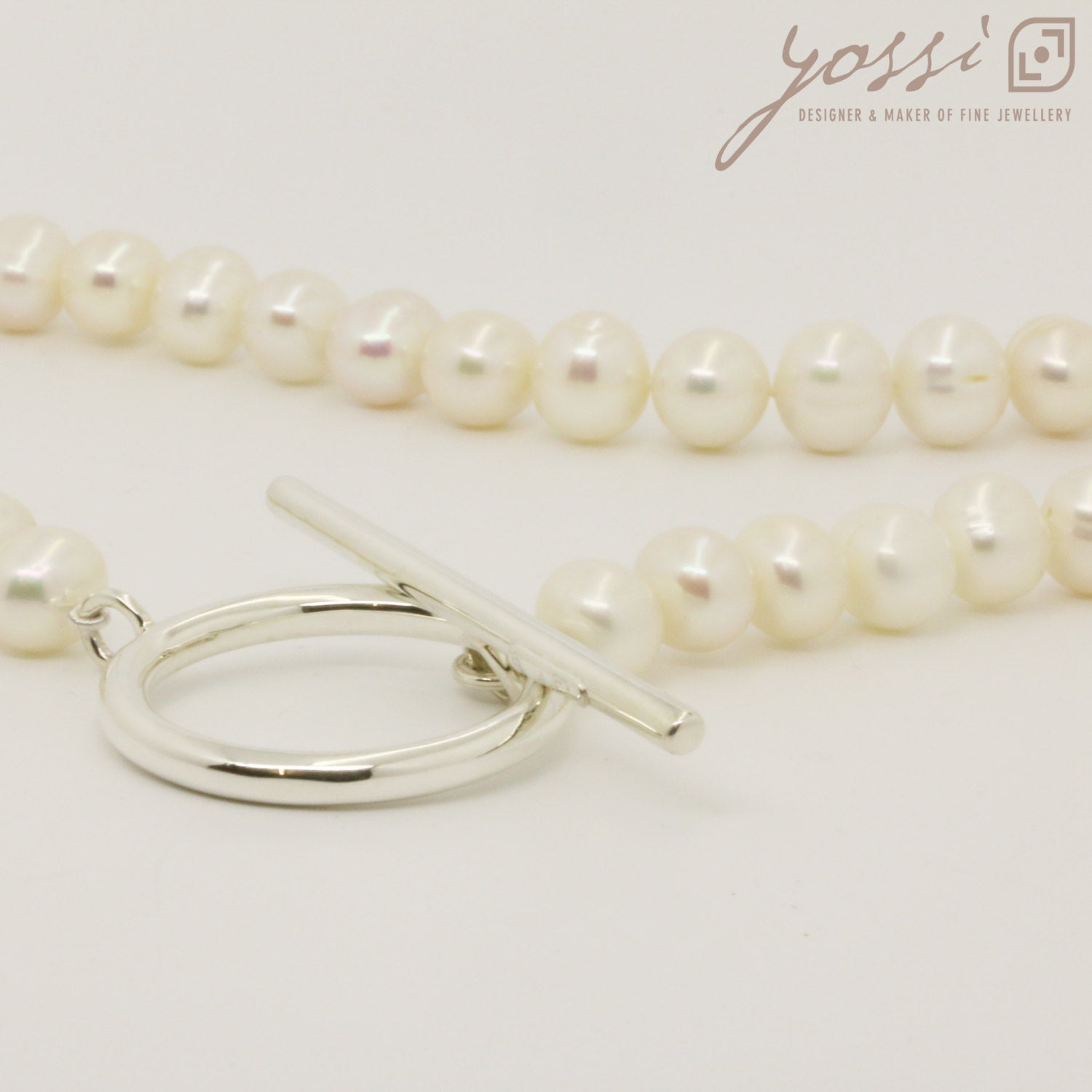 Royal White Pearl Necklace 4