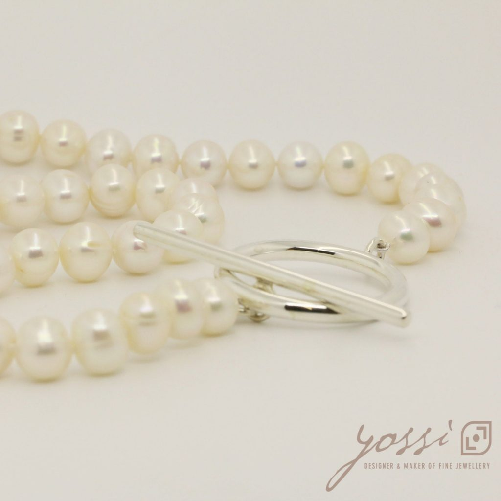 Royal White Pearl Necklace 28