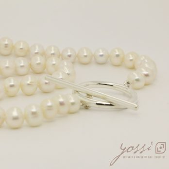 Royal White Pearl Necklace