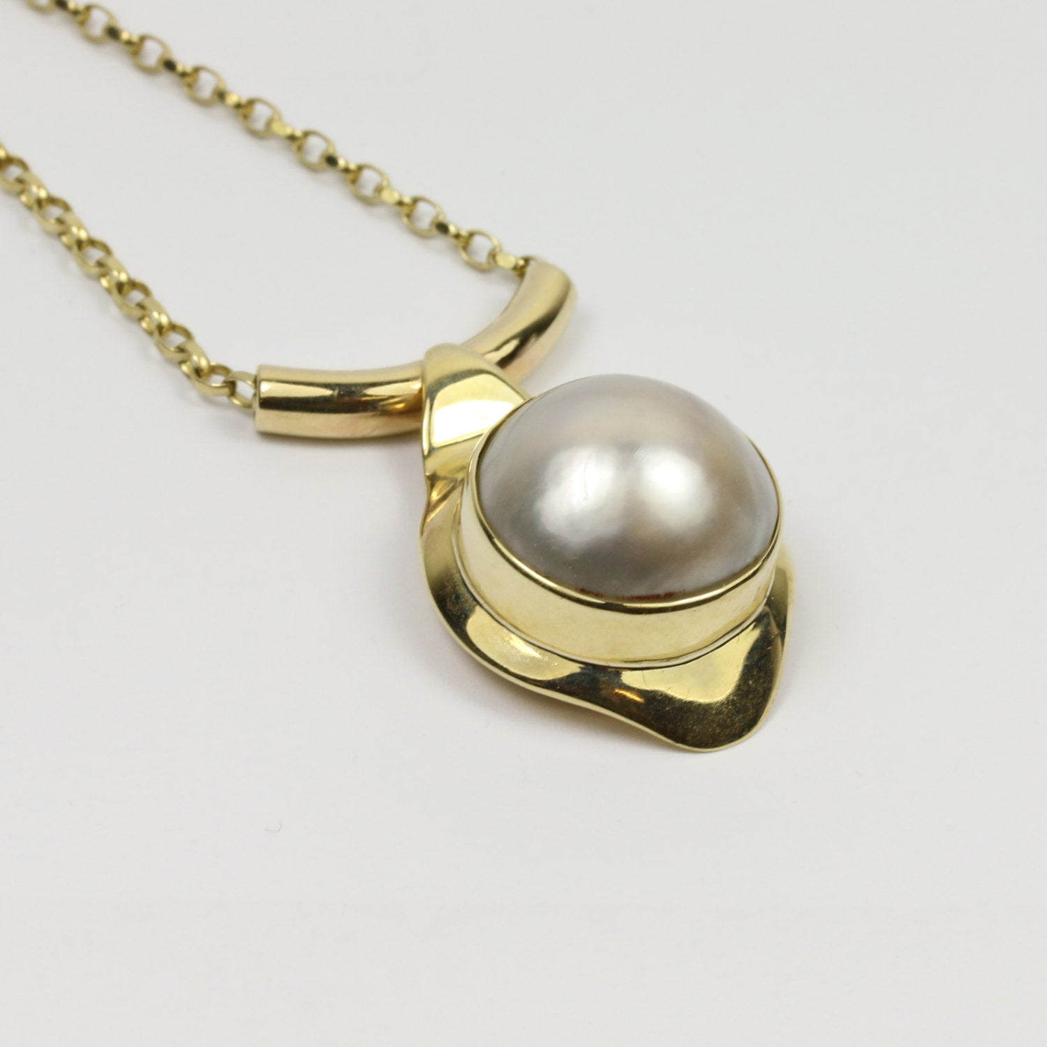 Magnificent Pearl Pendant | 9ct Gold 4
