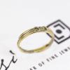 Infinity Friendship Ring | 18ct Yellow, White & Rose Gold 1