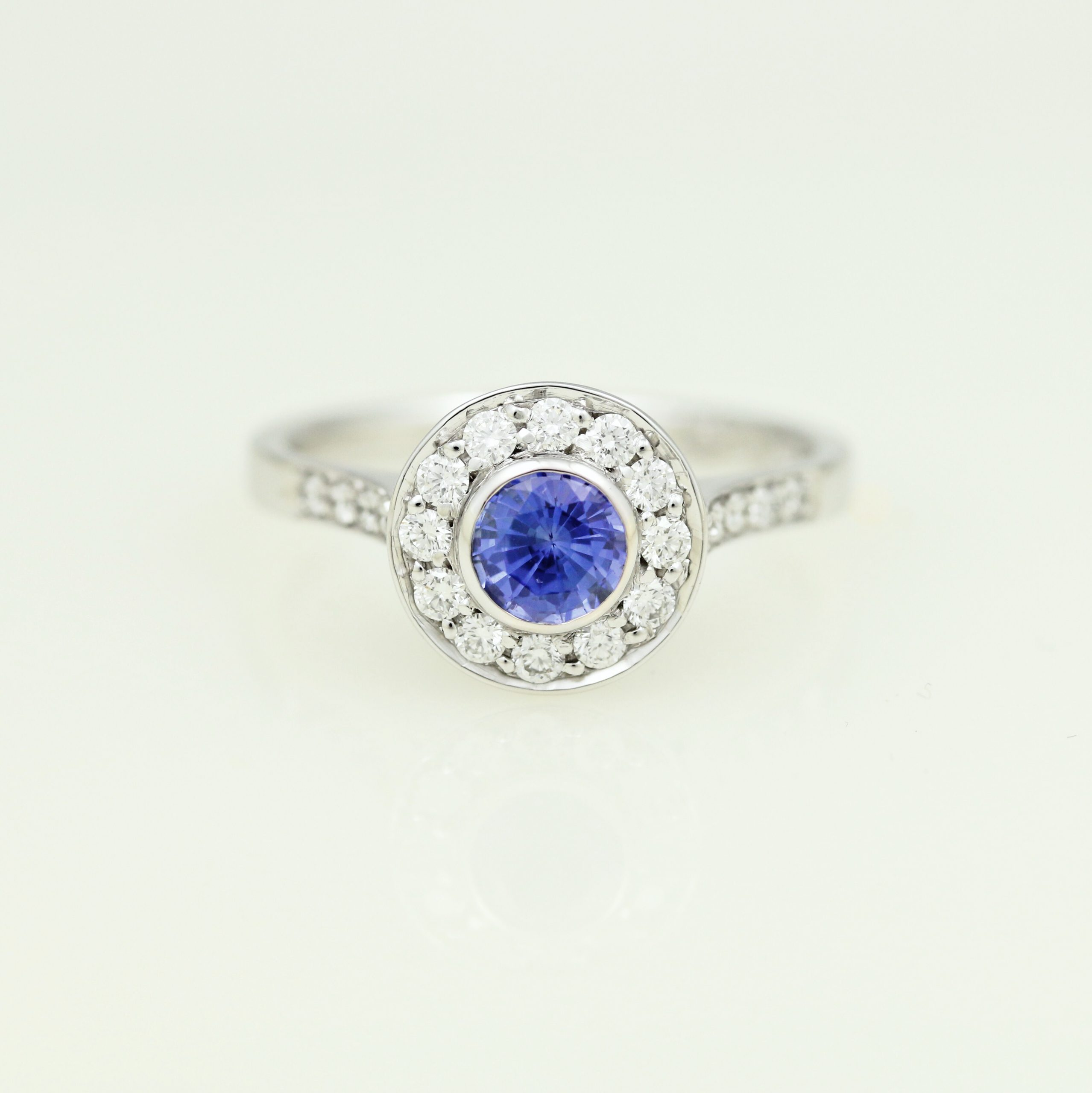 See How It's Made: Sapphire Halo Ring