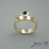 Spellbound Sapphire & Diamond Ring 2